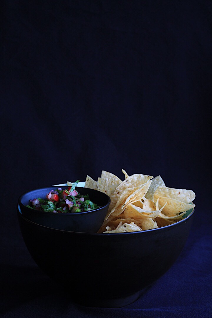 Fresh Spring Salsa and Chips
