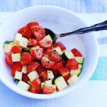 Zucchini Tomato Salad