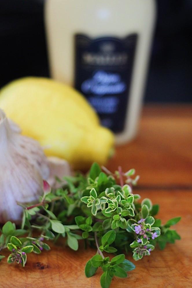 Lemon Thyme Chicken Marinade