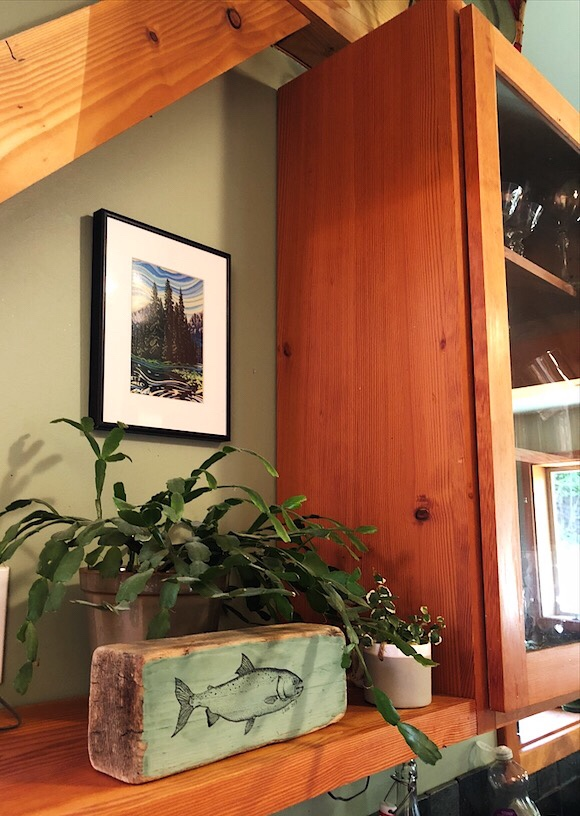Fir Cabinetry and more Local Fish And Scenery Art