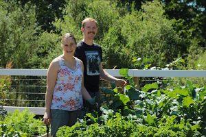 Doug And Angela Menzies on their Hobby Farm