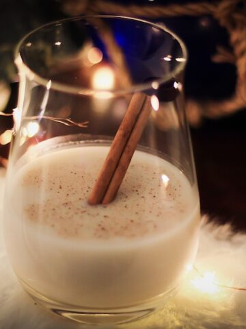 Earth's Own Almond Nog And Dark Rum