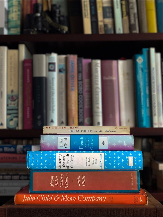 My Julia Child Cookbook Collection
