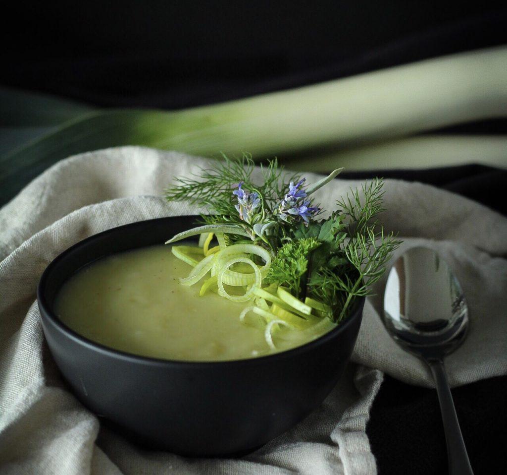 Quick Easy Delicious Potato Leek Soup, Classic French Recipe