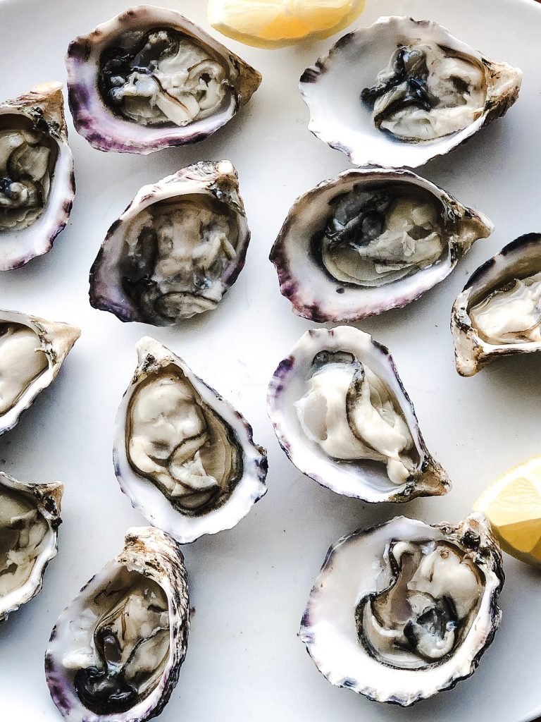 Pacific Raw Oysters From British Columbia