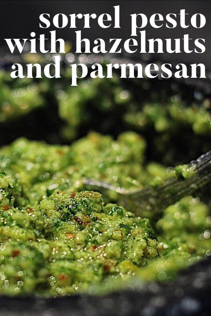 Pesto With Hazelnuts And Parmesan Pin