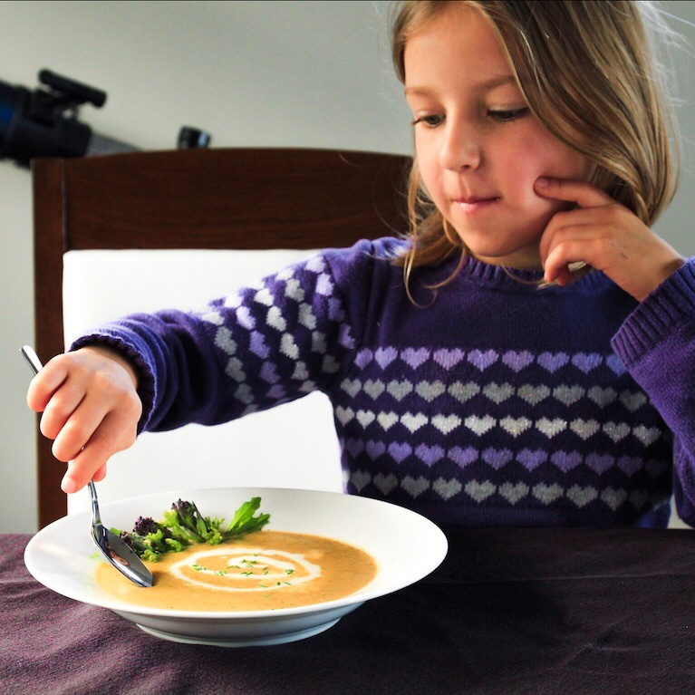 Kid Friendly Broccoli Cheese Soup