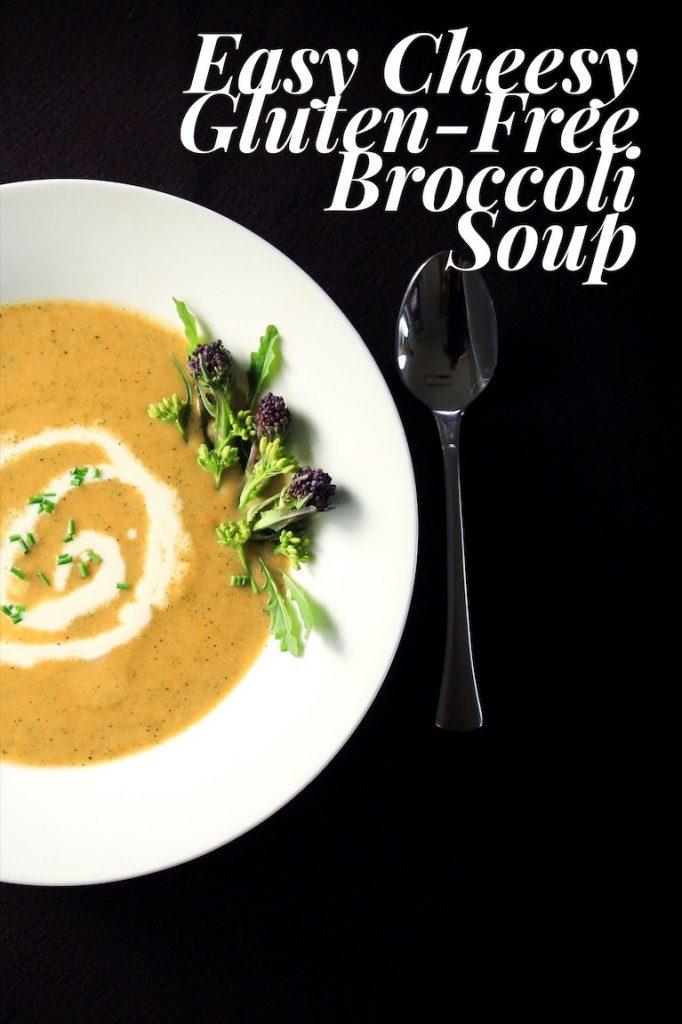 Fast And Easy Broccoli Cheese Soup (Gluten-Free)