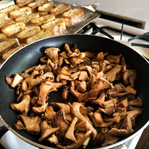 Cooking Wild Mushrooms