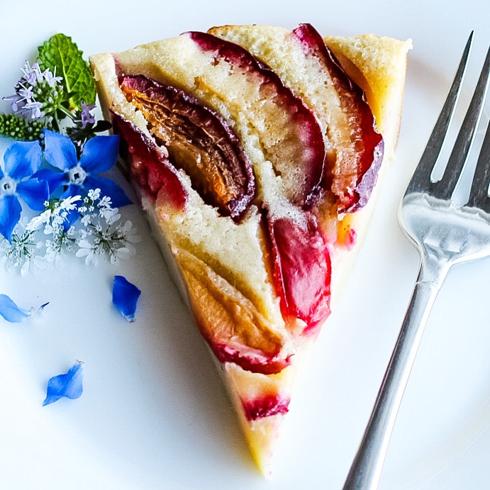 Classic Easy Clafoutis Recipe With Plums