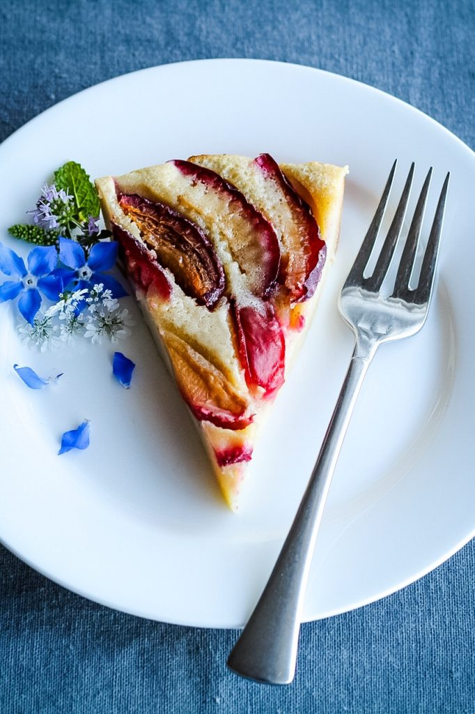 French Clafoutis Recipe With Plums