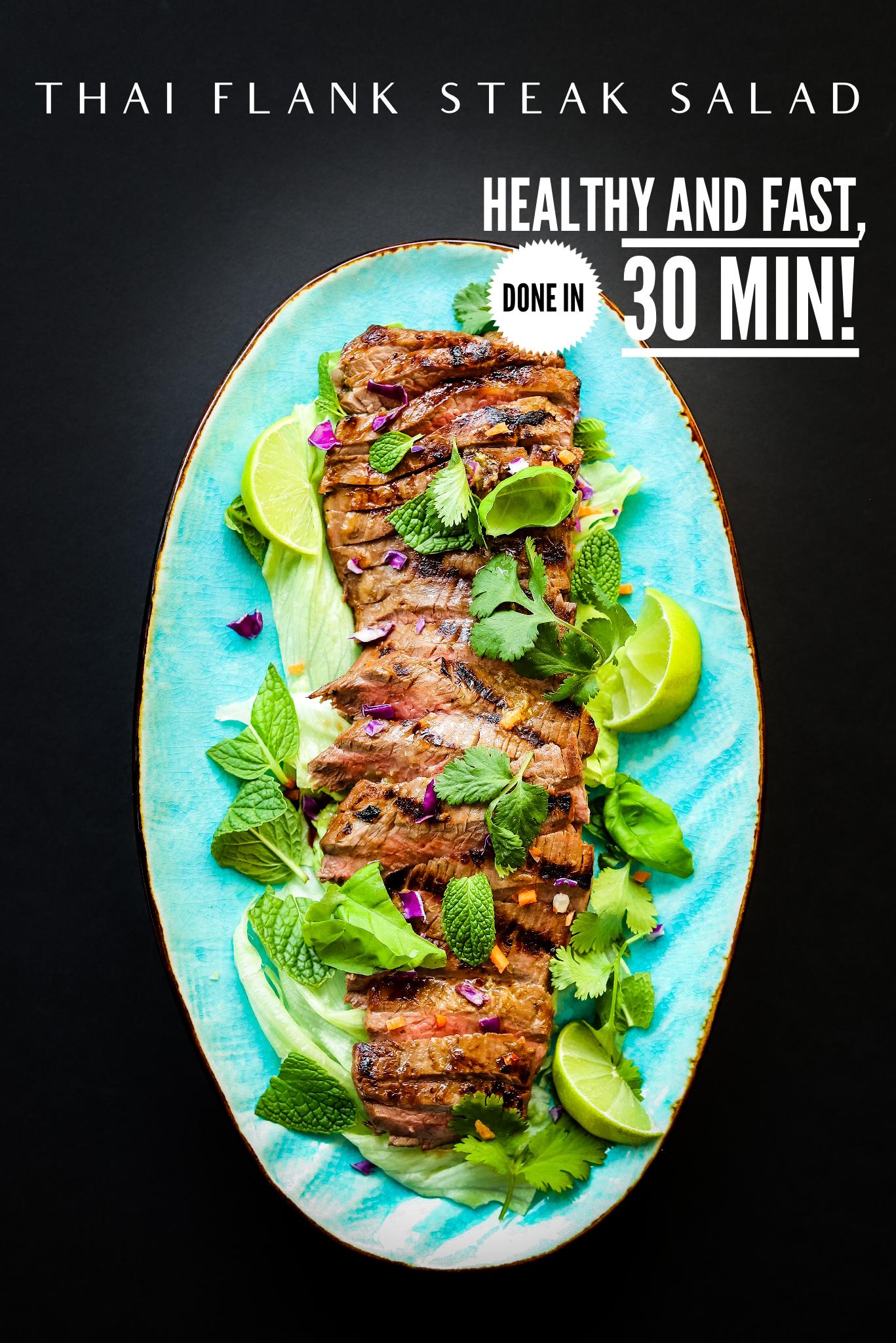 Healthy Easy Thai Salad Recipe