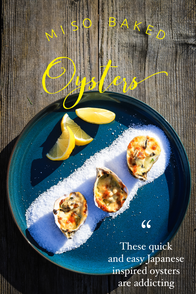 Miso Baked Oysters Rockefeller