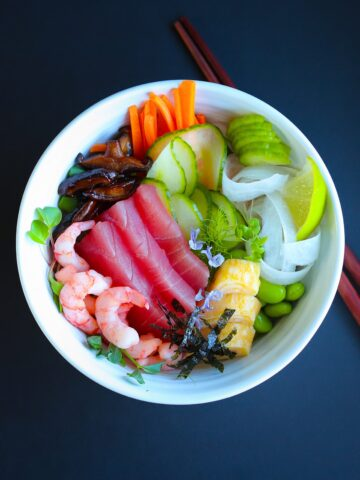 Chirashi Sushi Bowl Recipe