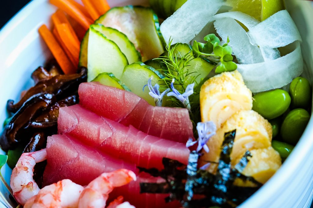 Traditional Sushi Ingredients For An Easy One Bowl Meal