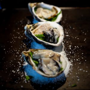 Cut Large Oysters Into Smaller Pieces For Baked Oysters