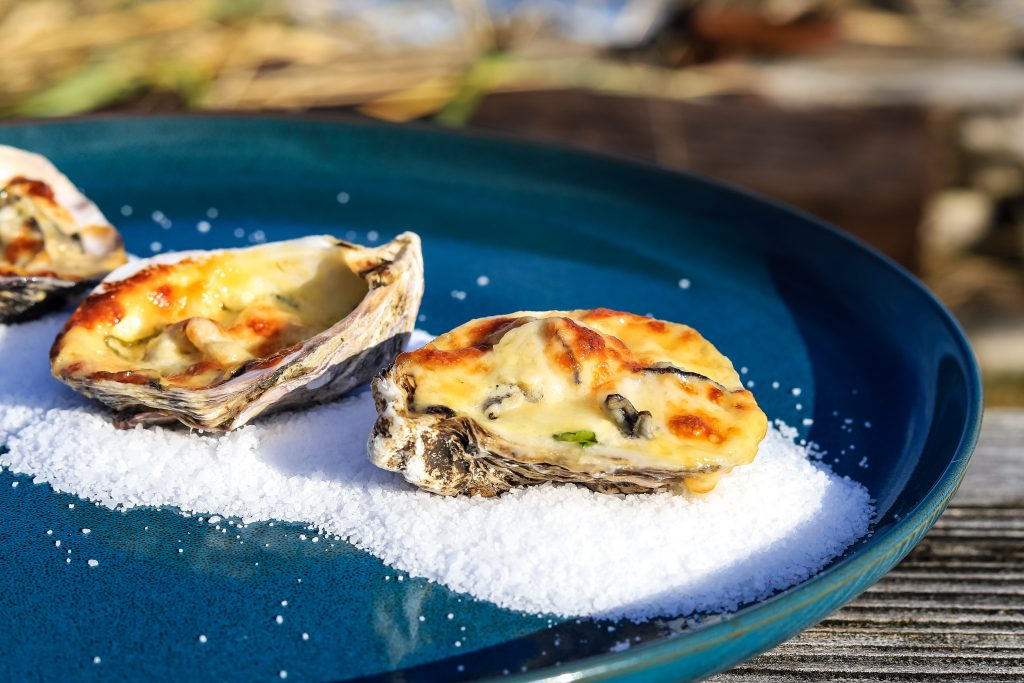 Creamy Baked Oysters
