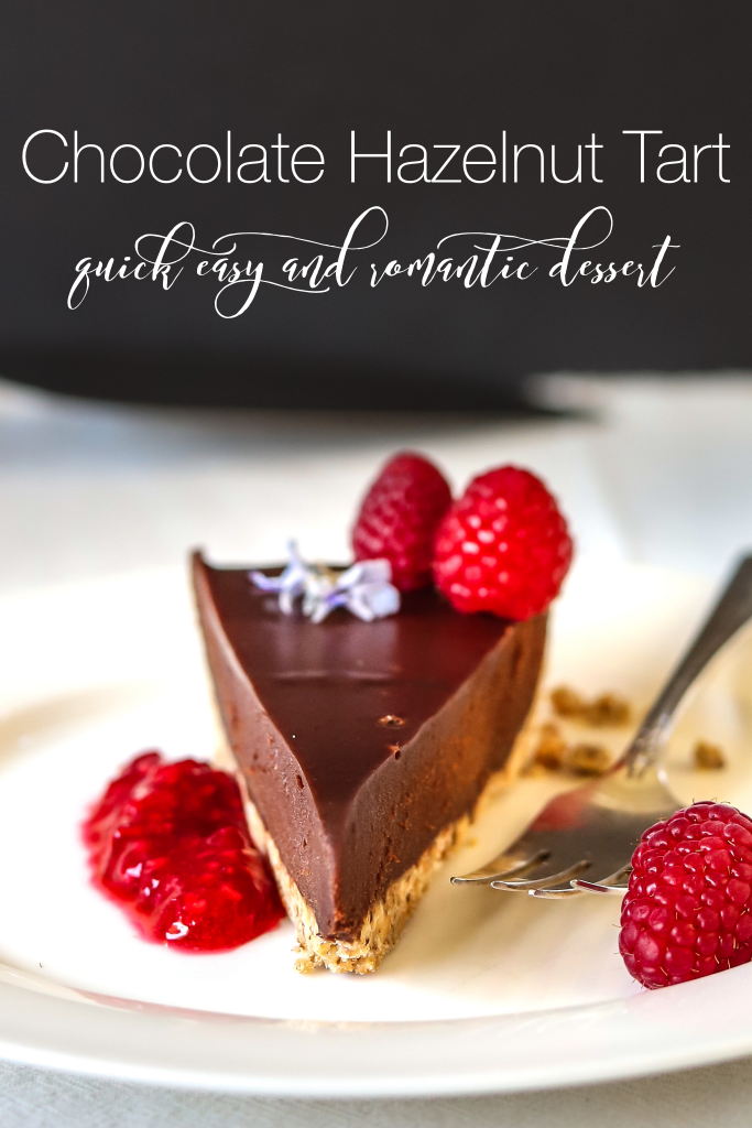 Romantic Easy Dessert-A Rich Chocolate Cake