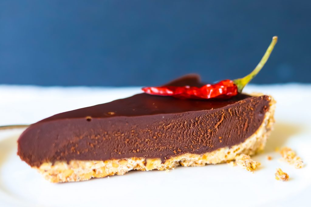 Mexican Chocolate Cake With Chili