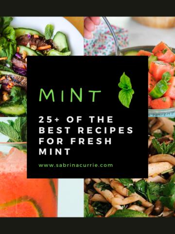 Best Fresh Mint Recipes
