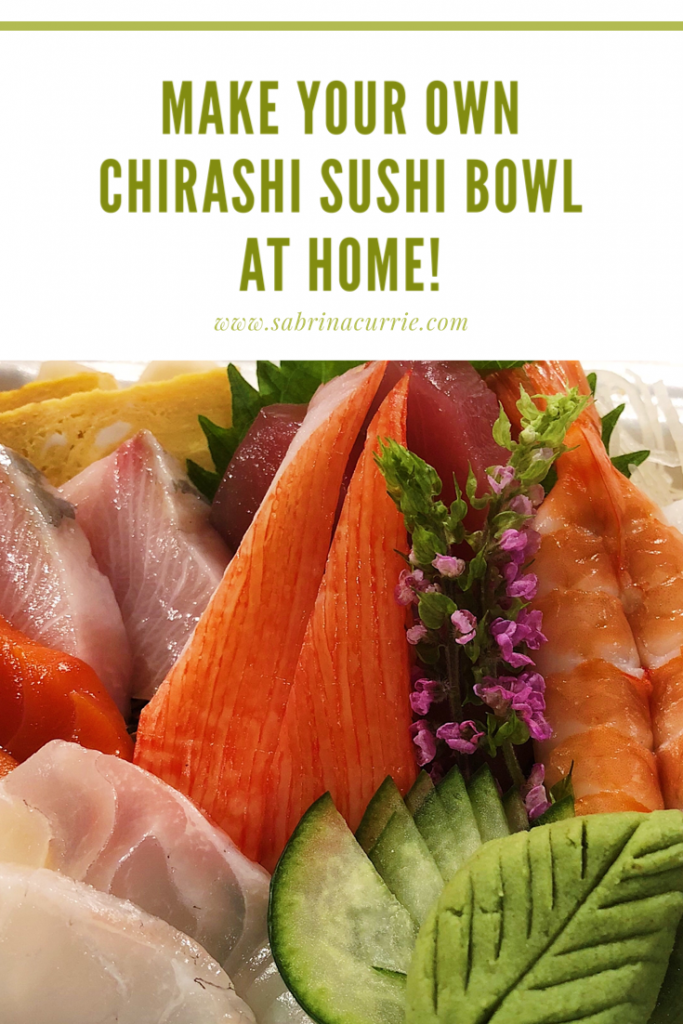 How to make your own chirashi sushi