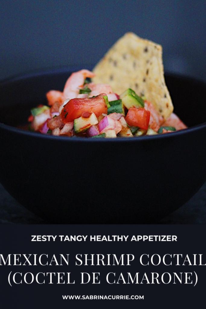 Easy Appetizer-Mexican Shrimp Cocktail