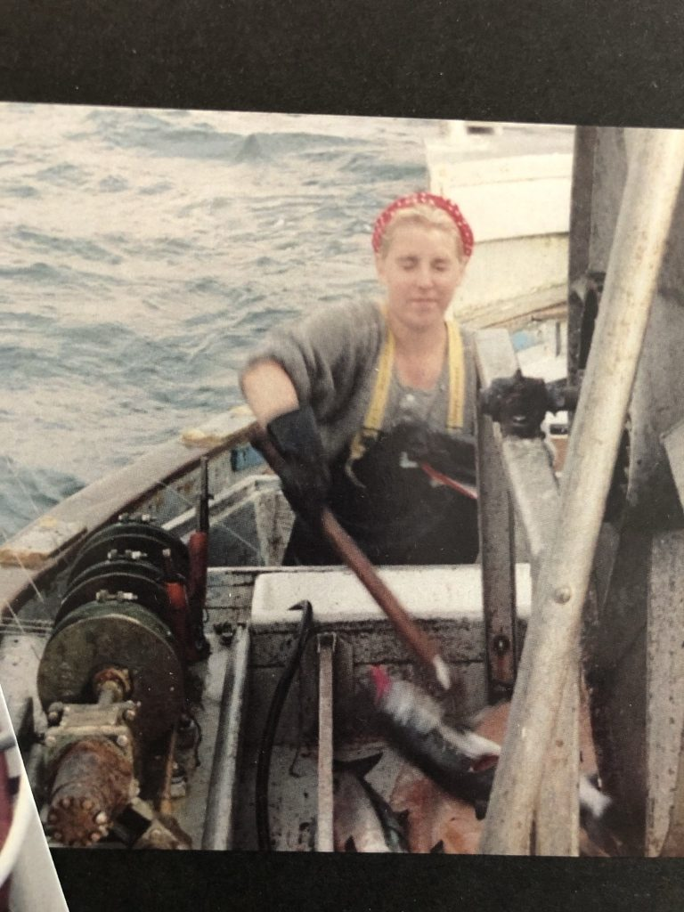 Sabrina Commercial Salmon Fishing in the 90's