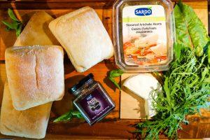 Sardo Artichokes Make the Best Grilled Cheese Panini