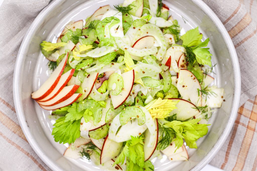 A Delicious Healthy Salad That Can Be Made Ahead