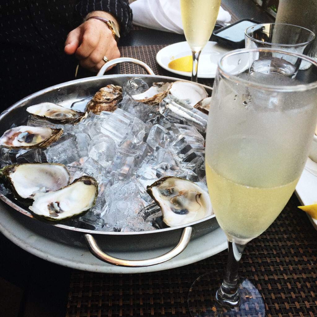 Oyster Platter in Victoria BC