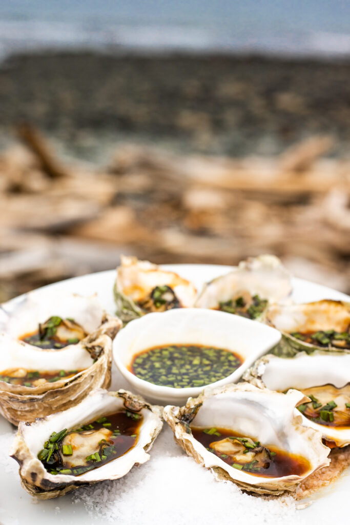 Pacific Ocean Fanny Bay Oysters