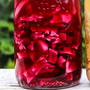 Pickled red cabbage recipe