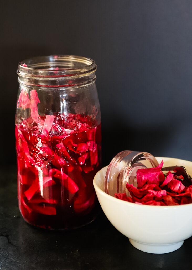 Fermented Red Cabbage Sauerkraut
